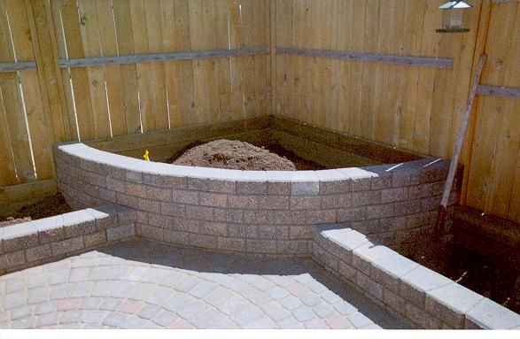 For The Corner Patio Near The Kitchen Put In A Little 400 x 300