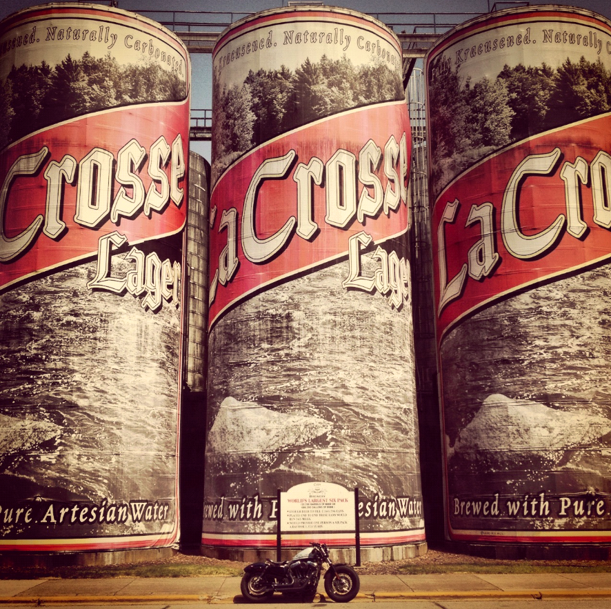 Worlds Largest Beer Cans La Crosse Brewery Roadside Attractions La Crosse Worlds Largest