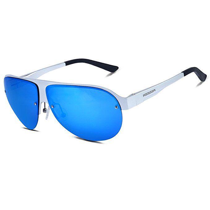774adda52cc HODGSON Aviator Polarized Sunglasses for Men Women