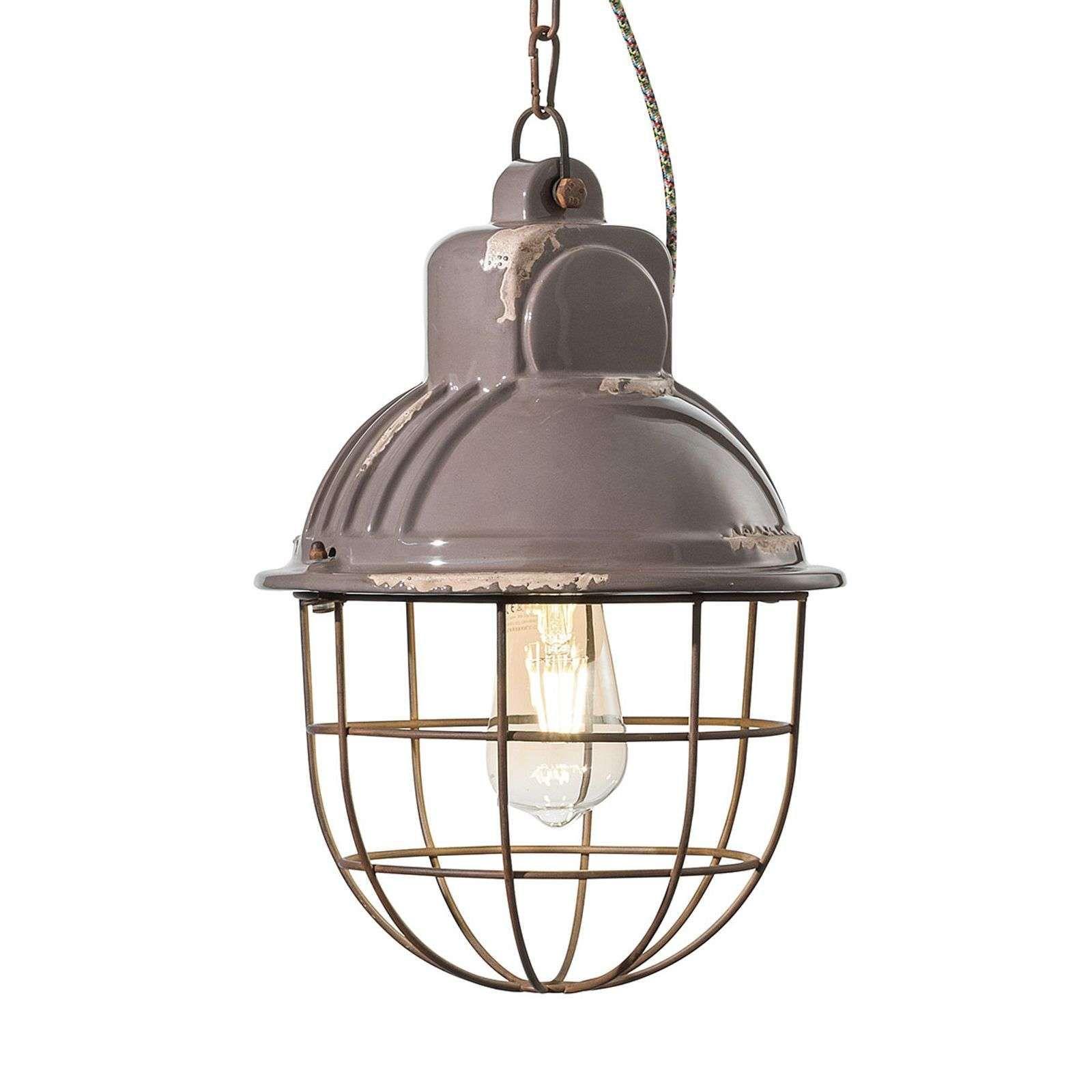 Suspension C1770 Au Design Industriel Bleu Gris In 2020 Moderne Lampen Hanglamp Hangende Lichten