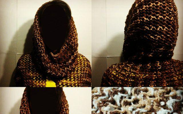 Capuz, cachecol e gola tricô.  Na foto com amostras das cores: marrom claro mesclado. Na cor marrom claro mesclado temos à pronta entrega. Compre aqui: http://www.elo7.com.br/capuz-cachecol-e-gola-trico/dp/42D374  #lojatricotei#@lojatricotei#tricotei #modainverno #inverno #modainverno2016 #inverno2016 #Crochê#Tricô #ModaFeminina #ModaMasculina  #artesanato #cachecol#cachecois#capuz  #Elo7#elo7br