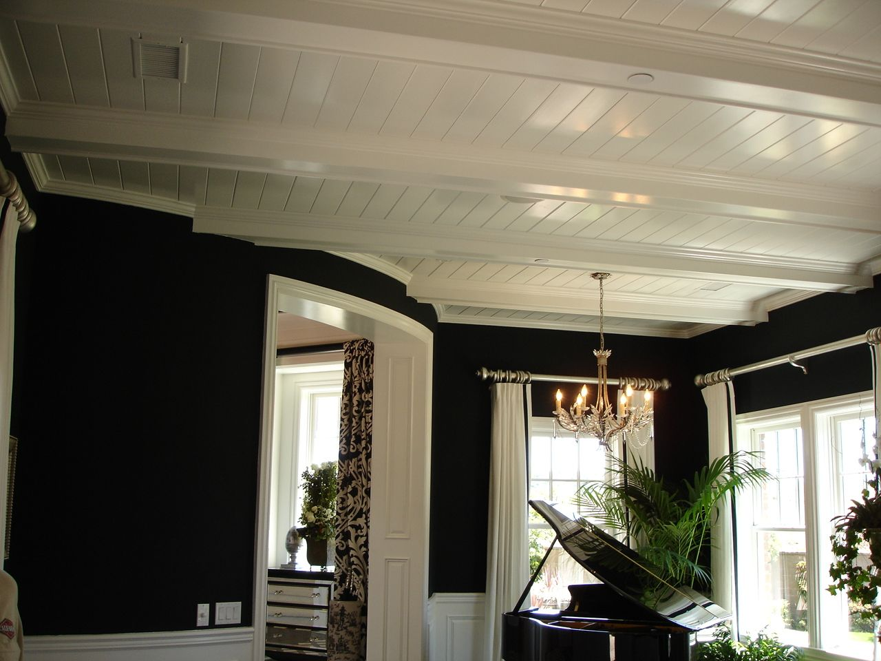 beamed ceiling Designs | Thread: Suggestions for T&G panels in beam ceiling  design