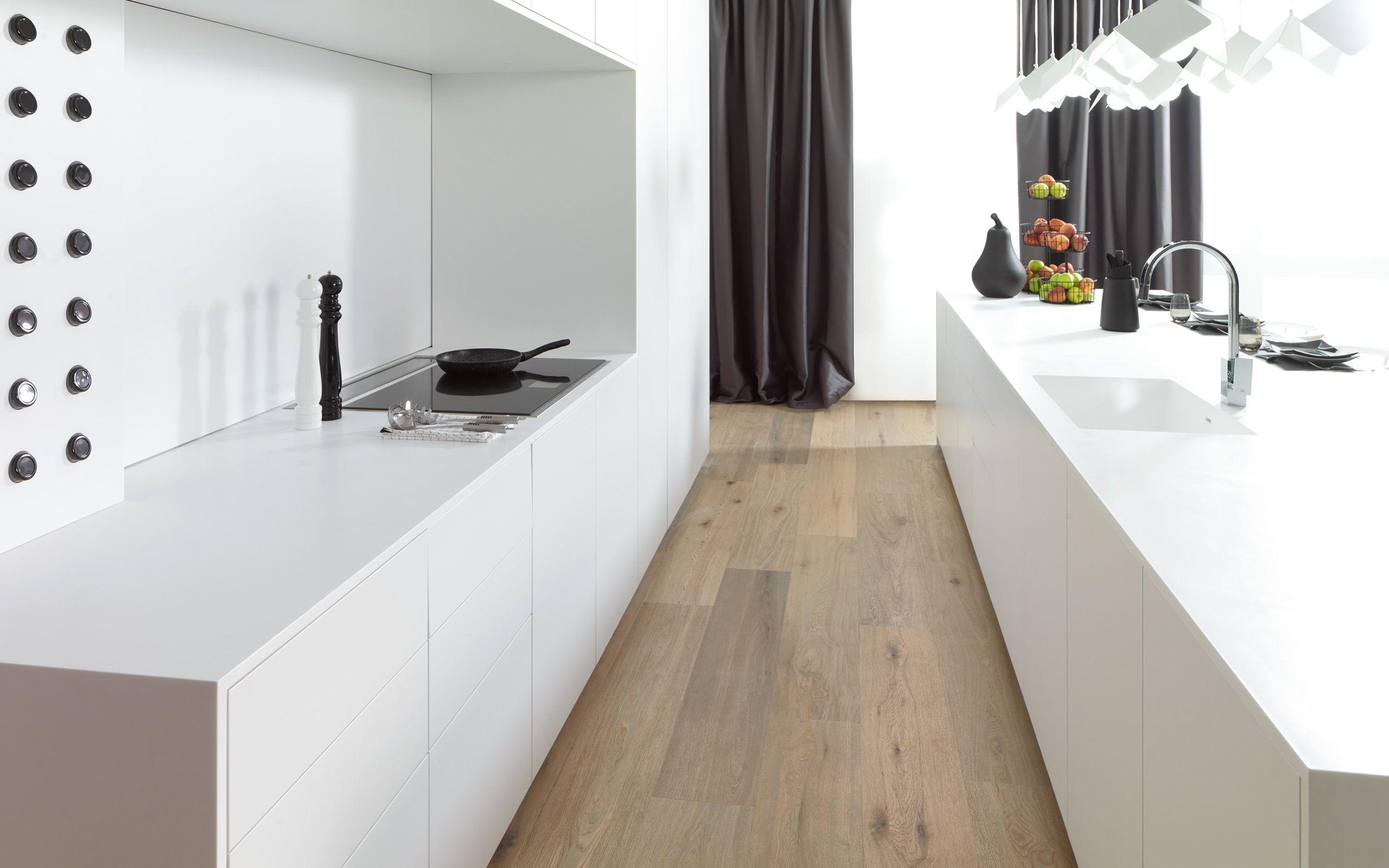 E4 00 Blanco Snow Mate Roble Puro Cocinas Kitchens Gamadecor