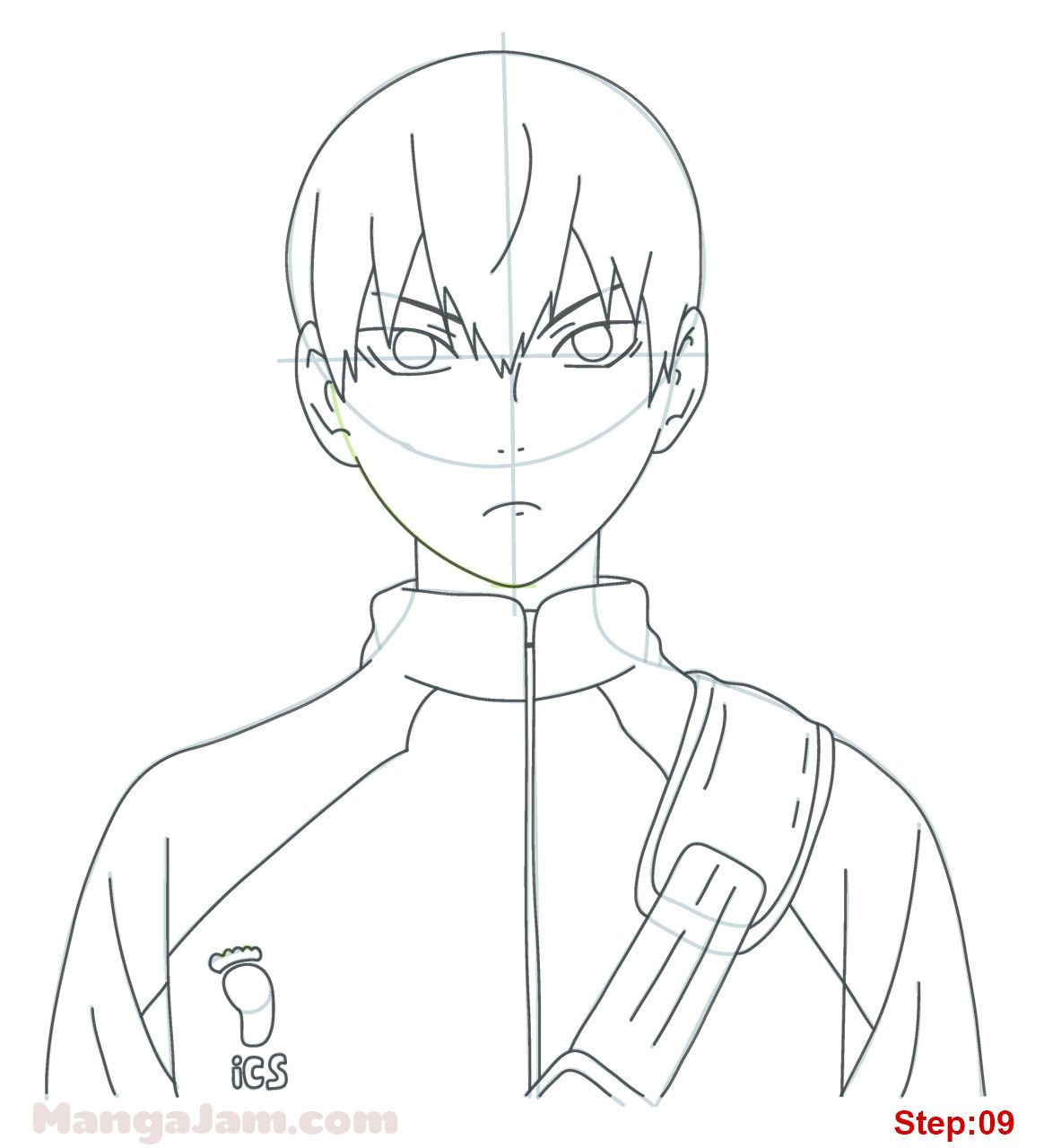 Photo of How to Draw Tobio Kageyama from Haikyuu – MANGAJAM.com
