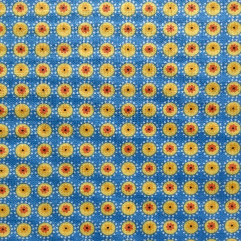 Marvelous Collette In Blue And Yellow Extra Wide Oilcloth A Tiny Print A New Find For  Us