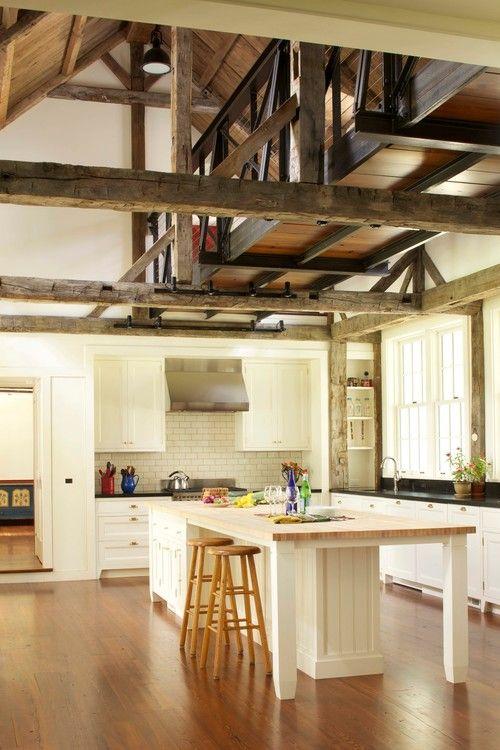 Antigua casa de labranza de Chatham, Nueva York. Arquitecto James ...