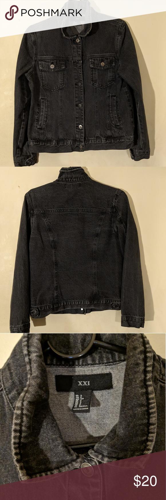 Women S Xxi Jean Jacket Denim Jacket Women Denim Women Jackets [ 1740 x 580 Pixel ]