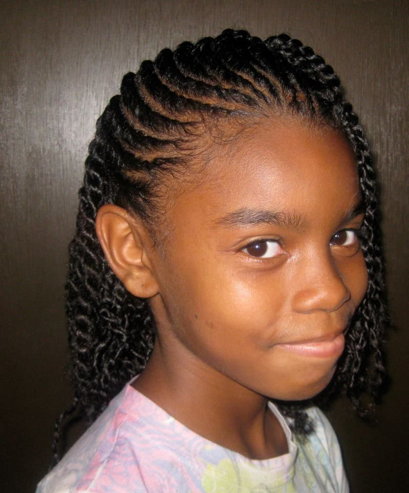 Surprising 1000 Images About Black Kids Hairstyles On Pinterest Black Hairstyles For Women Draintrainus