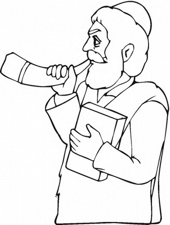 Great High Yom Kippur Coloring pages for Kids 2013   rosh hashana ...