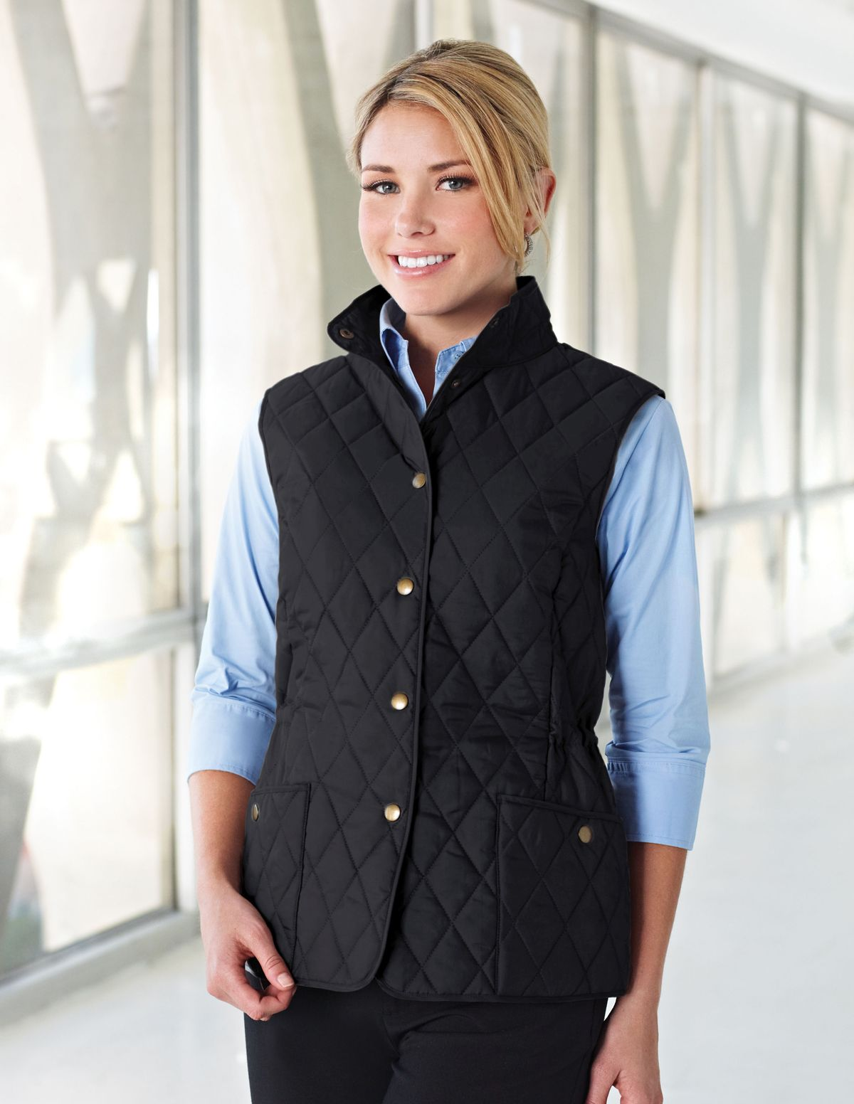 Opentip.com: Tri-Mountain LB8221 Bailey Women's 95% Polyester 5% Nylon Woven Poly-filled Quilted W/R Jacket