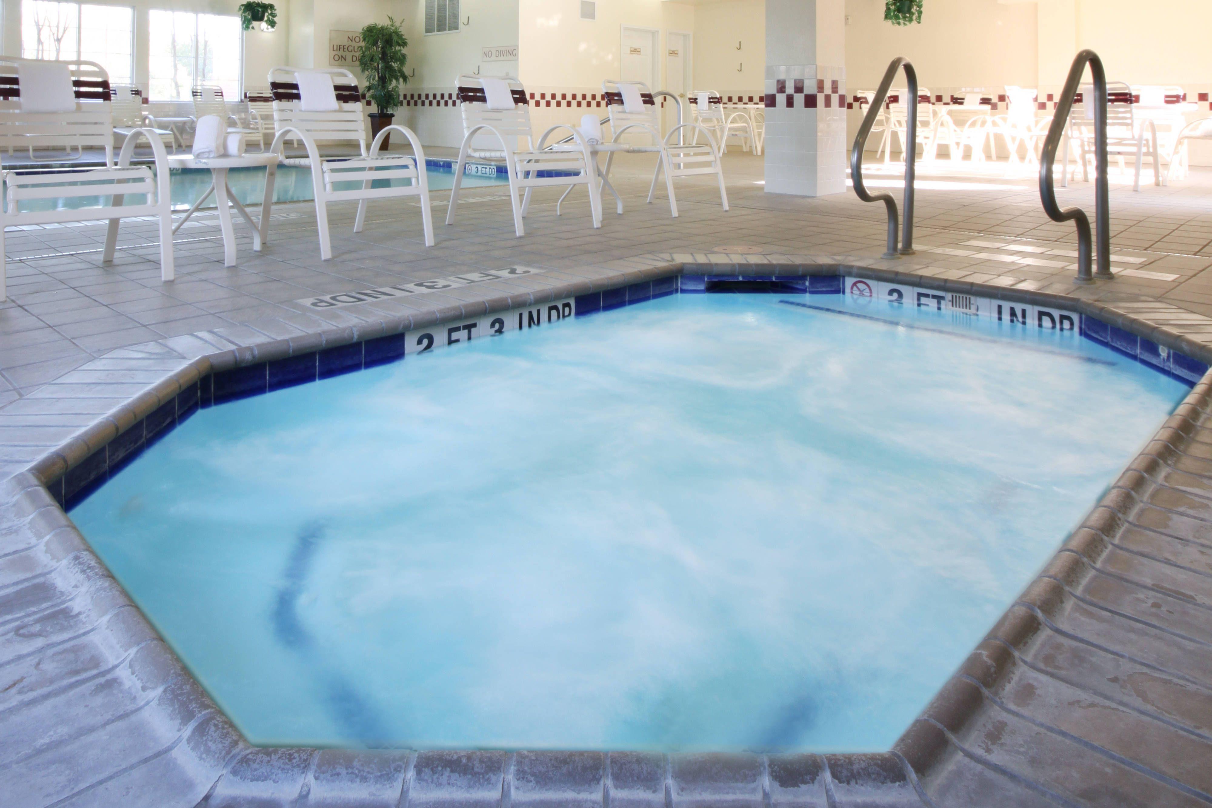 Residence Inn Houston Northwest Willowbrook Whirlpool Holiday Happy Guestroom Residences Inn Indoor Pool