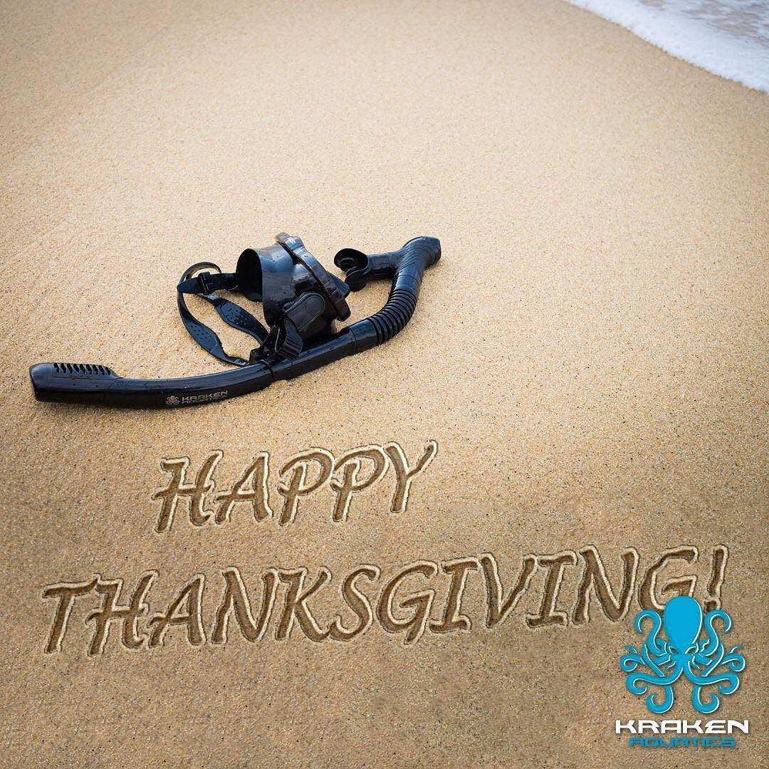 Happy Thanksgiving from Kraken Aquatics! We hope you all have a wonderful Thanksgiving  Day and cherish… | Happy thanksgiving, Cherish every moment, In this moment