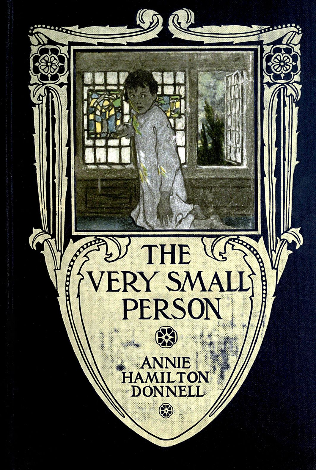 """The Very Small Person"""" by Annie Hamilton Donnell; with illustrations ..."""