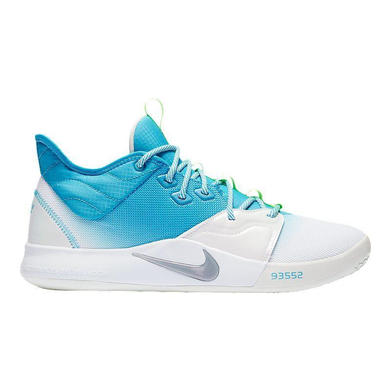 Nike Men's PG 3 Basketball Shoes - Blue