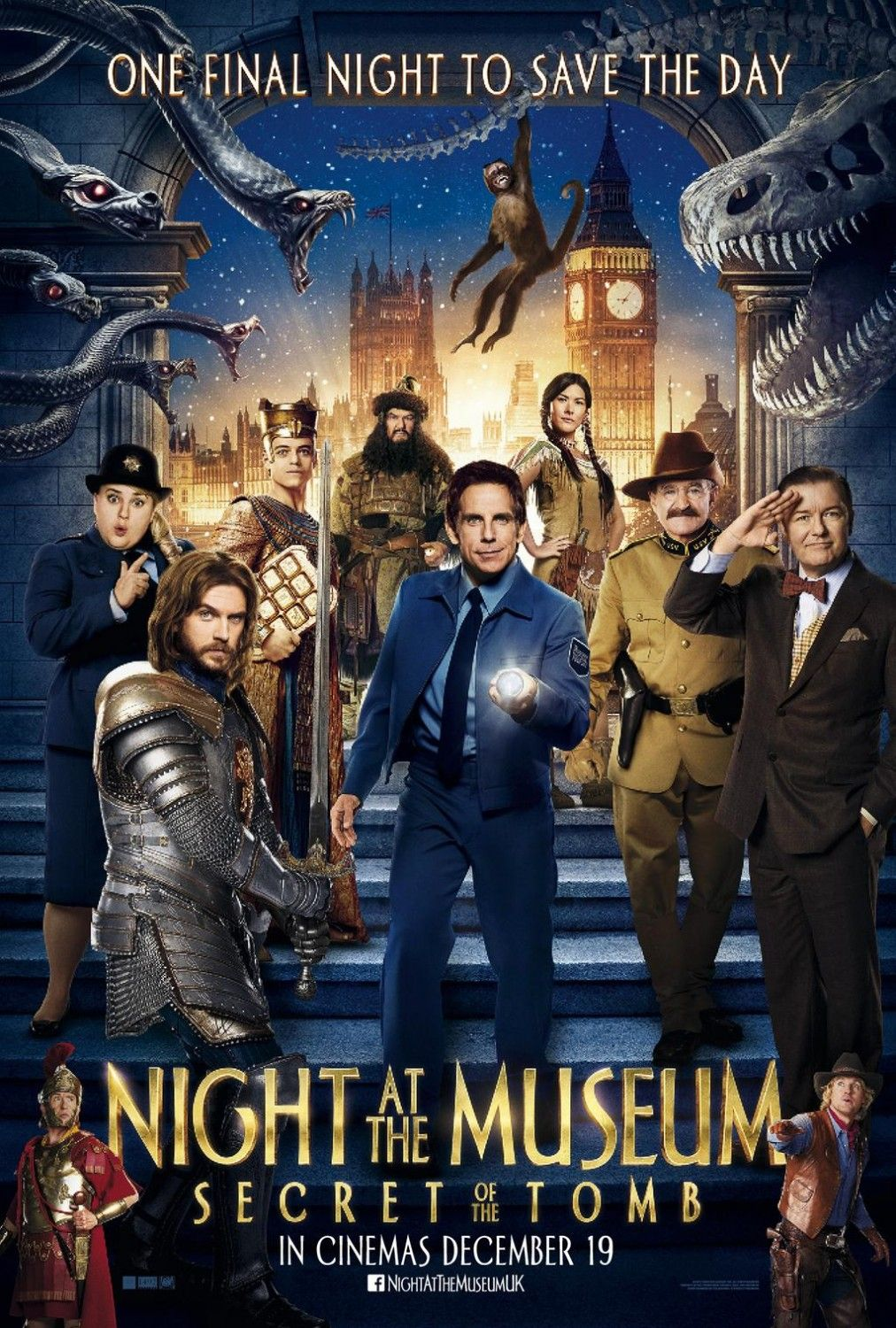 night at the museum: secret of the tomb (2014) | posters | films