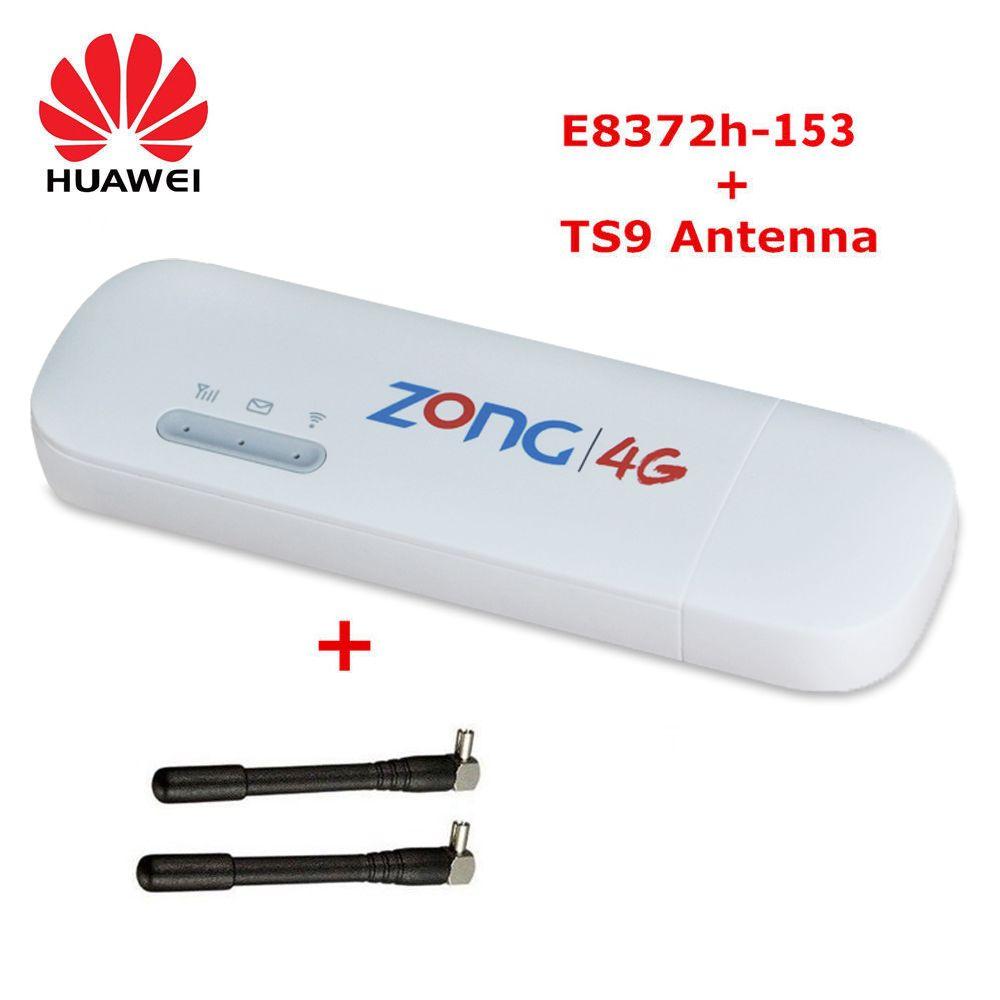 Unlocked Huawei E8372h-153 WiFi Car USB Modem 4G 3G 150Mbps LTE FDD