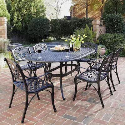 wrought iron patio furniture metal