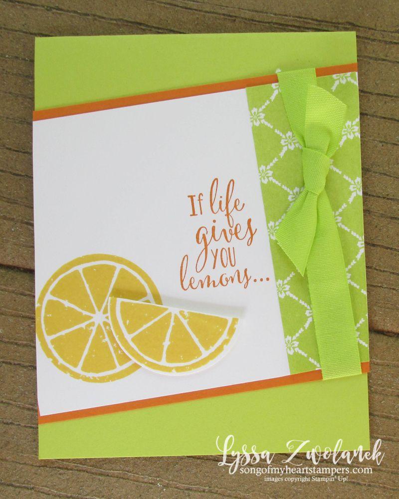 If Life Gives You Lemons Make Pretty Cards Lemon Limes And Cards