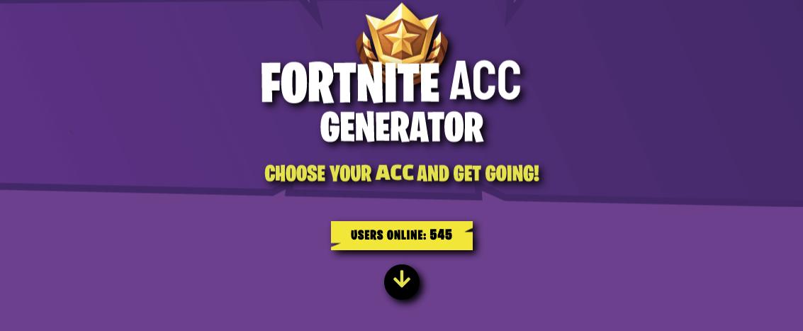 Fortnite Account Generator Fortnite Generator Online