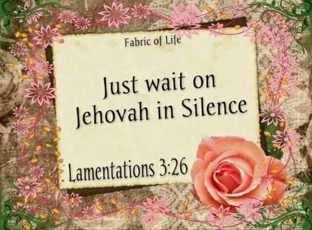 Lam. 3:26
