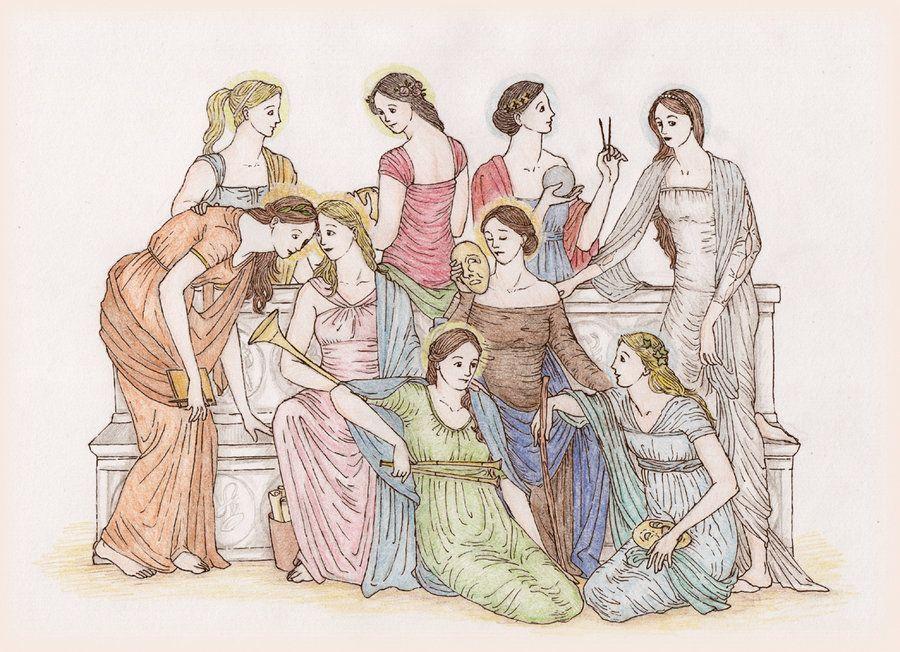 muses greek mythology
