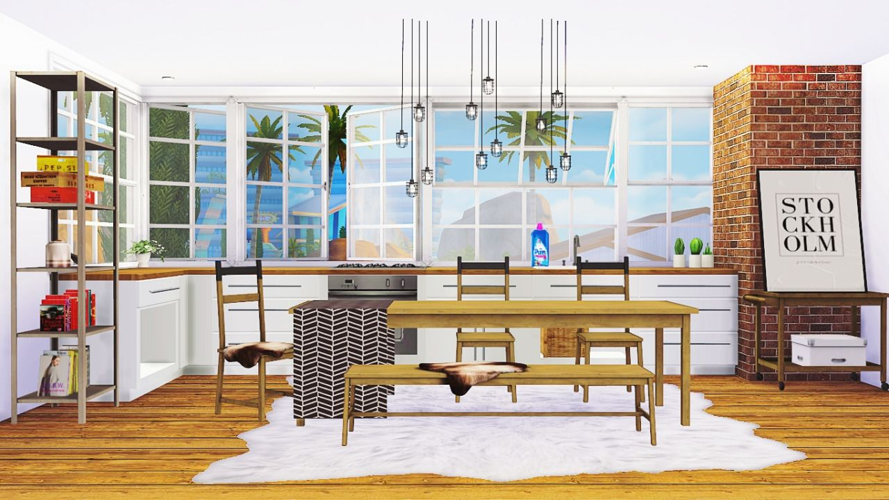 Dysprosium Dining At Maximss. Find This Pin And More On Sims 4 CC ...