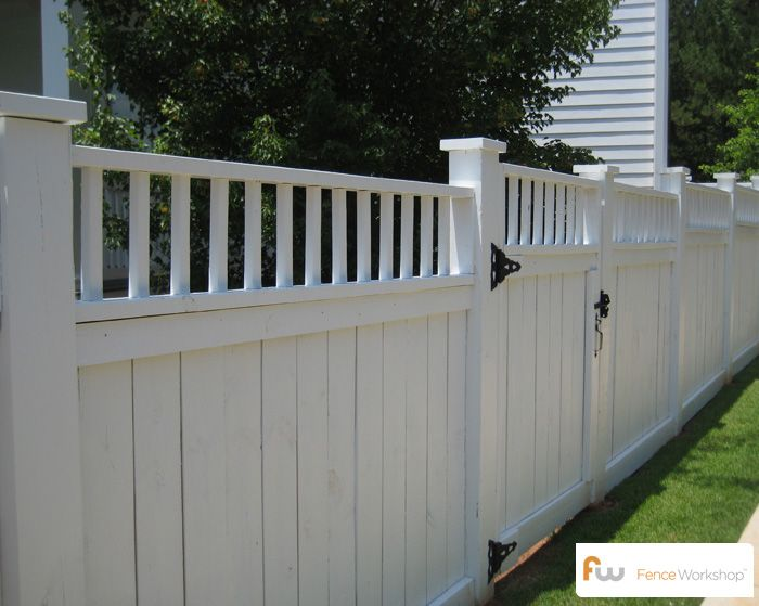 A Collection Of Traditional Privacy Fence Styles Designs Wood