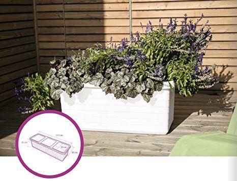 Pflanztrog Blumenkasten Bewässerungskasten \ - garten blumen gestaltung