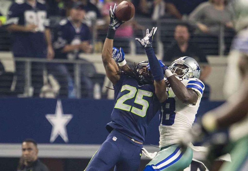 Seahawks Cornerback Richard Sherman News Dez Bryant