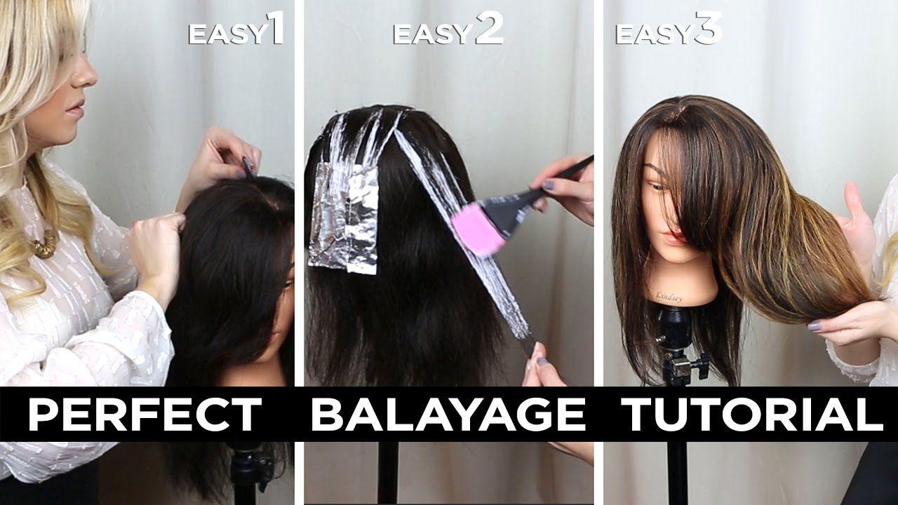 DIY Step by Step Perfect At Home Balayage Tutorial + HUGE