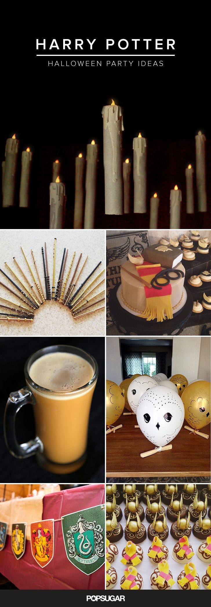 Everything You Need For a Magical Harry Potter Halloween Party ...