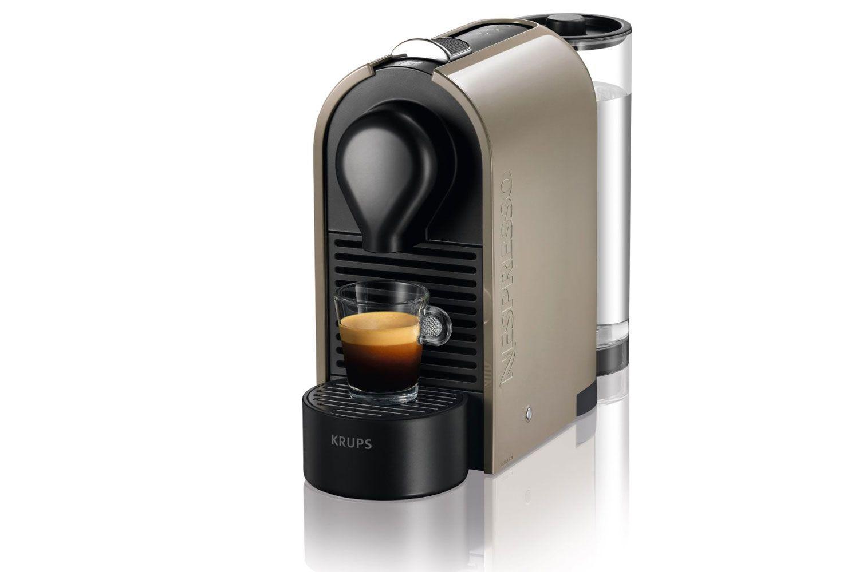 Krups Nespresso 'U' Coffee Machine Grey from Harvey Norman