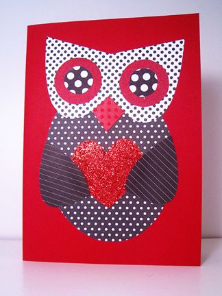 Paper Pieced Owl Valentine There Is A Printable Pdf Pattern For