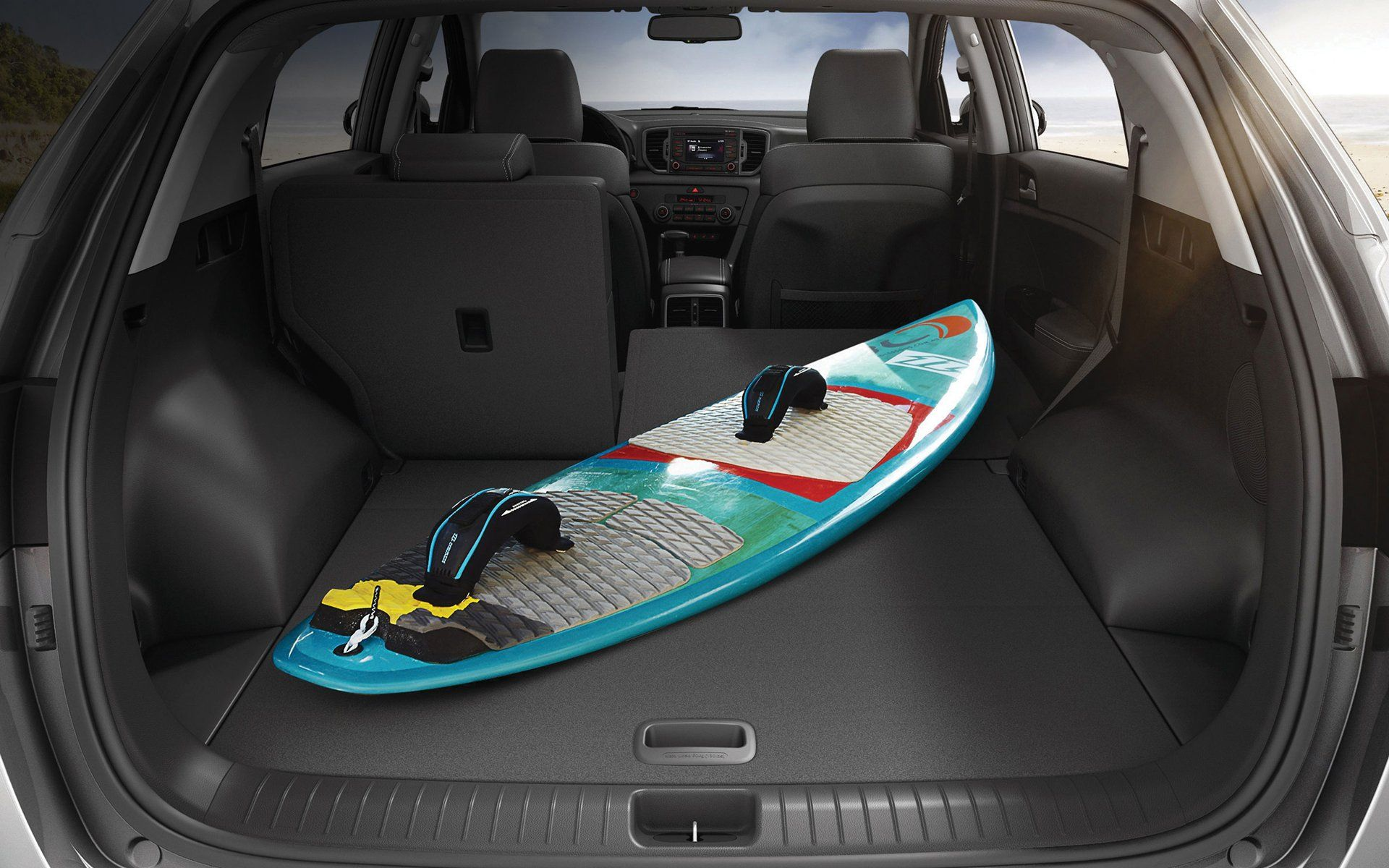 With Its Expanded Cargo Space The Sportage Has Ample Capacity For