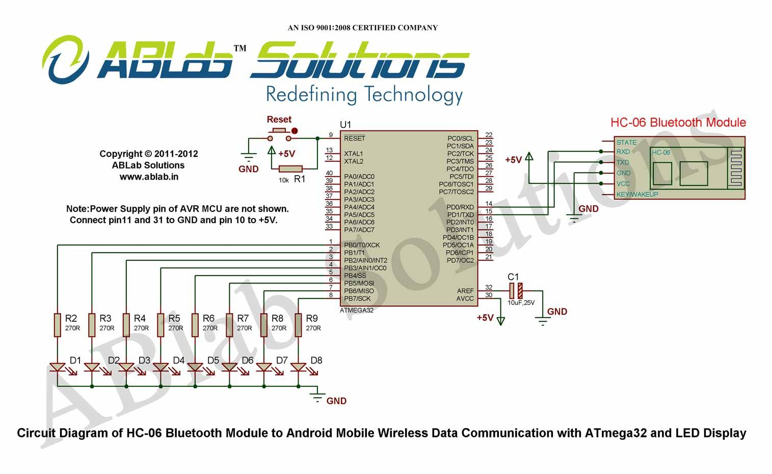 Hc 06 Bluetooth Module To Android Mobile Wireless Data