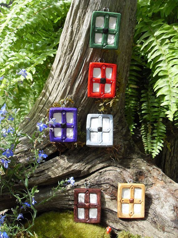 Fairy Window - Small Fairy Window - Fairy Garden Accessories