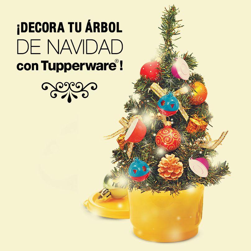 Decora tu árbol de Navidad con Tupperware! ¡Demuestra que eres fan ...