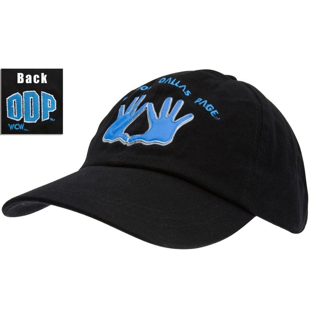 Black WCW Dad Cap Hat