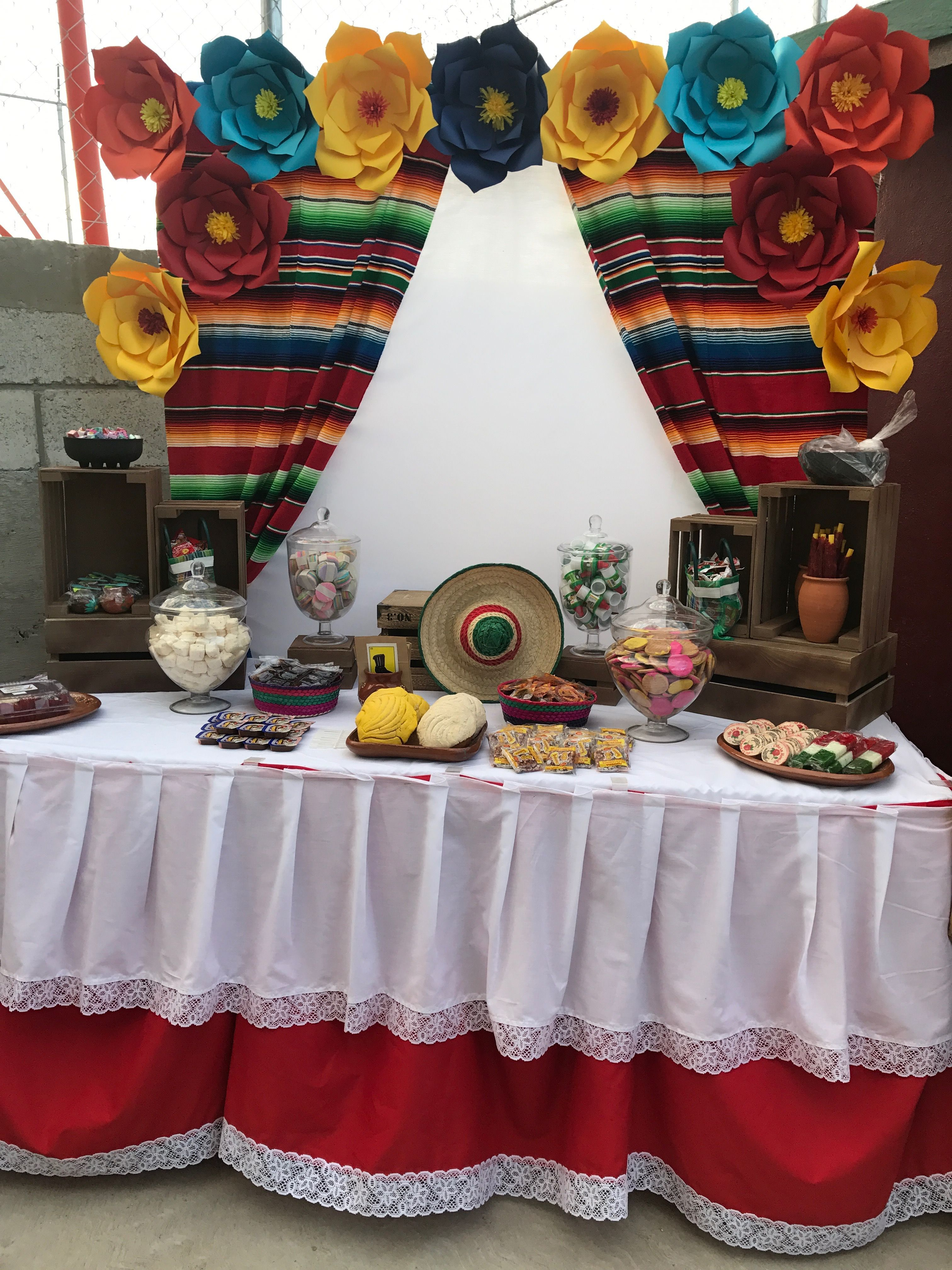 Candy Table Decoration Mexican