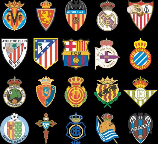 Escudos De Futbol Equipo De Futbol Futbol Espanol Futbol De Primera