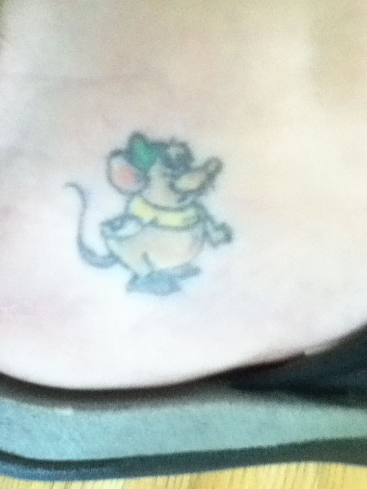 Gus Gus Disney Tattoo