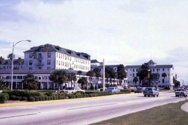 Florida Memory View Of The Ormond Hotel At 15 E Granada Blvd In Beach