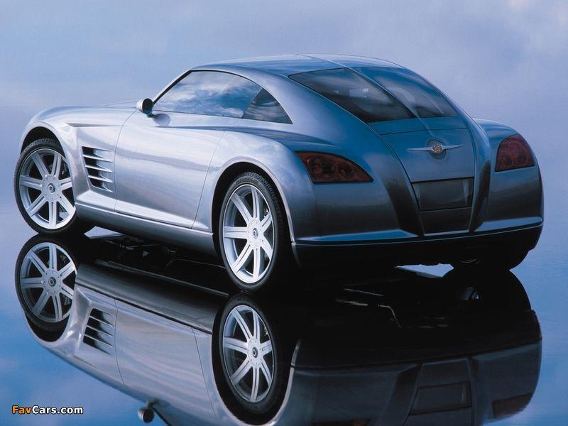Amazing 2001 Chrysler Crossfire Concept Photo   3