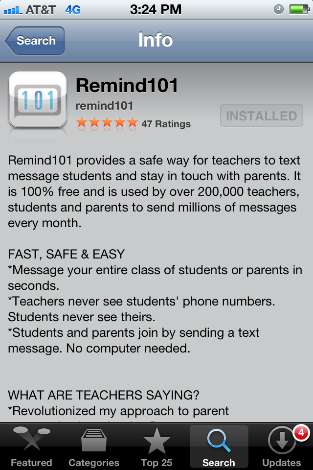 This Is A Great App Free To Send Reminders To Parents In Group
