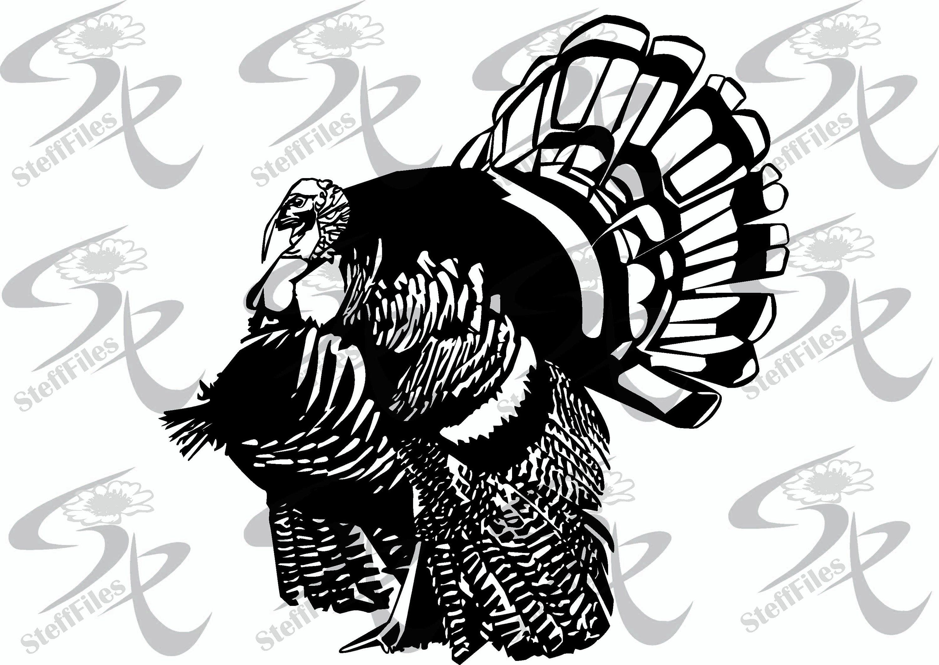 Vector TURKEY,SVG,dxf,ai,png,eps,Signature Silhouette