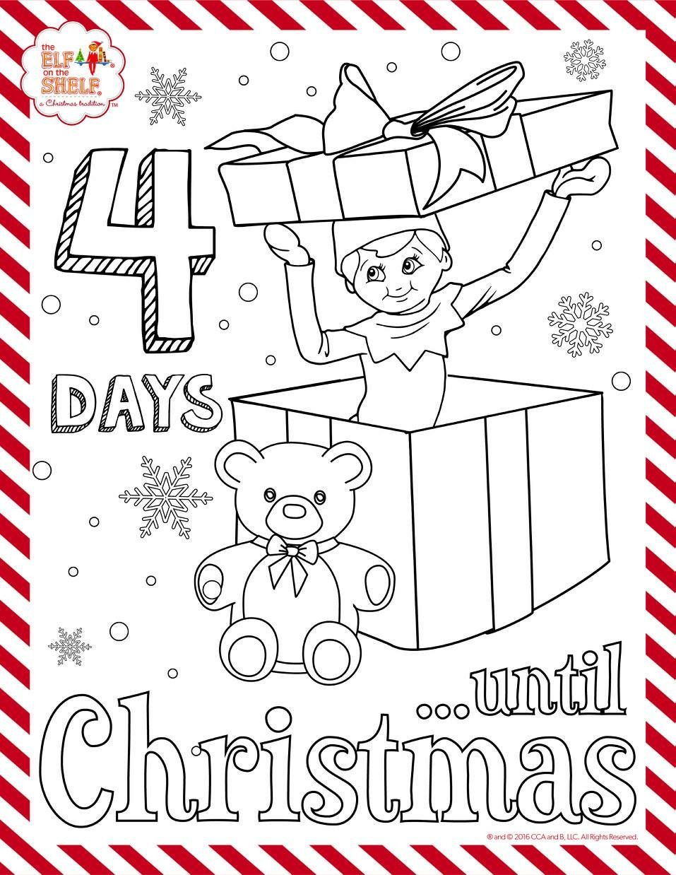 Pin By Catherine Montufar On The Elf On The Shelf Elf Christmas Coloring Pages Coloring Pages