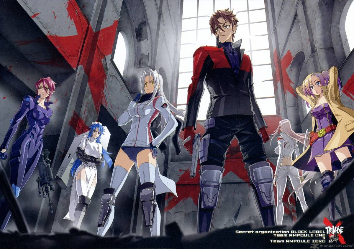 Triage Anime Characters : Triage t�m v i google xemphimone pinterest