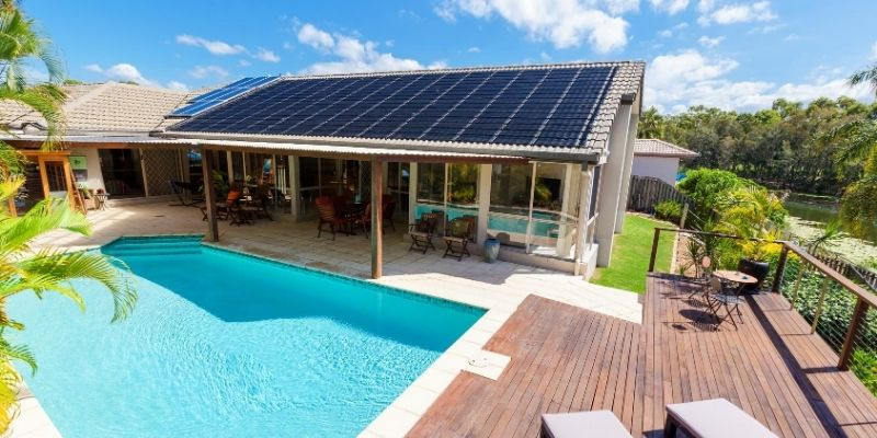 Does A Swimming Pool Add Value To Your Home Swimming Pool House Swimming Pools Solar Design