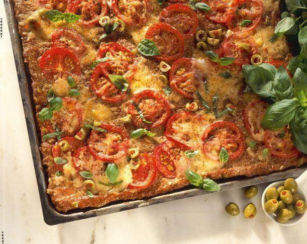 Hack-Kuchen vom Blech Rezept Pizzas - türkische küche rezepte