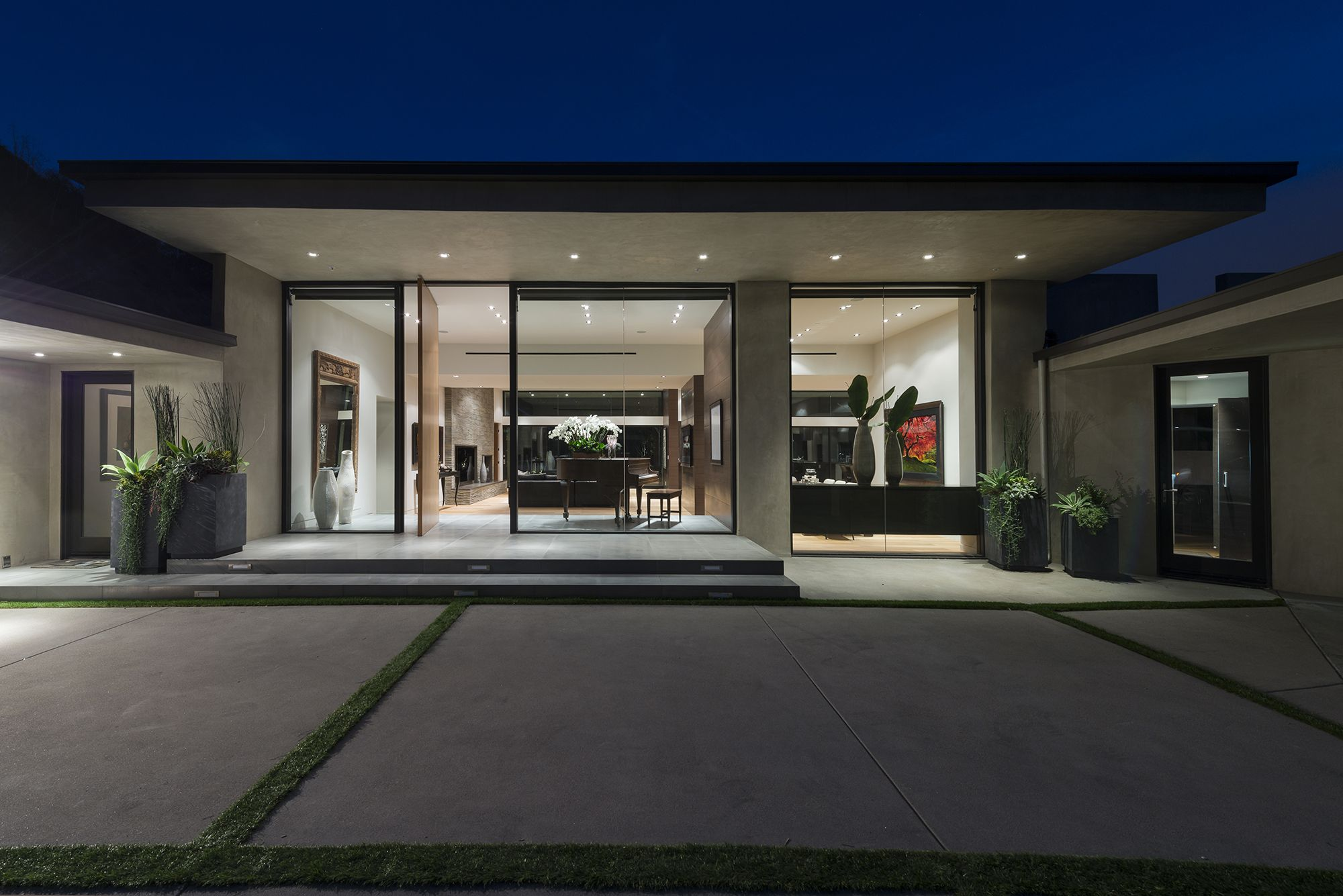 Single Story Contemporary House Design Homeworlddesign Homeideas Housedesign Interiordesi Contemporary House Plans Modern House Exterior Modern House Plans